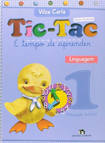 Tic-Tac. É Tempo de Aprender. Linguagem 1