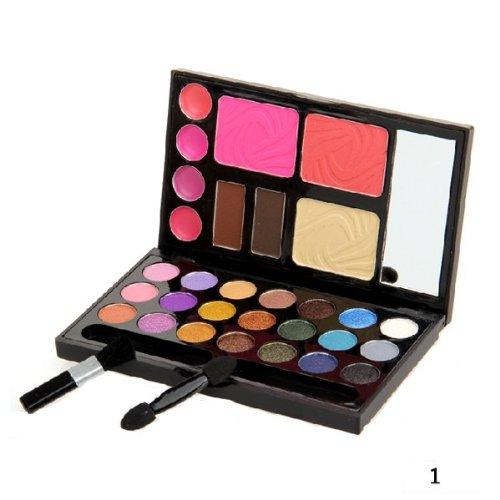 Yanshan Makeup 21 Color Eyeshadow Blush Lipgloss-Palette (Color : NO. 1)