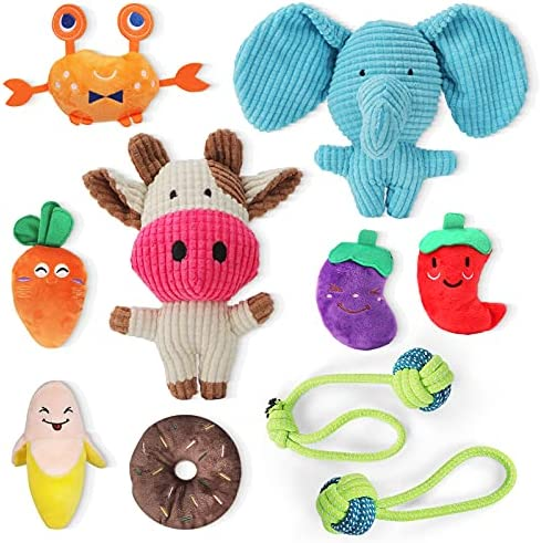 10 Pack Puppy Toys, Puppy Teething Chew Dog Toys,...