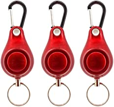 PULLEY Persoonlijke alarmen voor vrouwen, 120 DB Emergency Security Alarm Sleutelhanger voor Kids Vrouwen en Ouderen (Kleu...