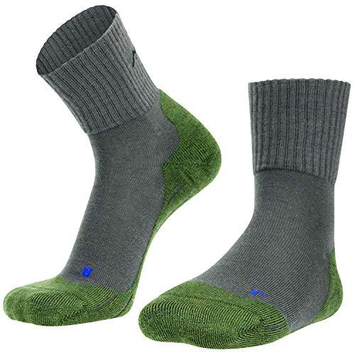gipfelsport Wandersocken Experience aus Merino Wolle - Socken für Outdoor, Trekking I Größe 42-44 I Grün I 1x Paar
