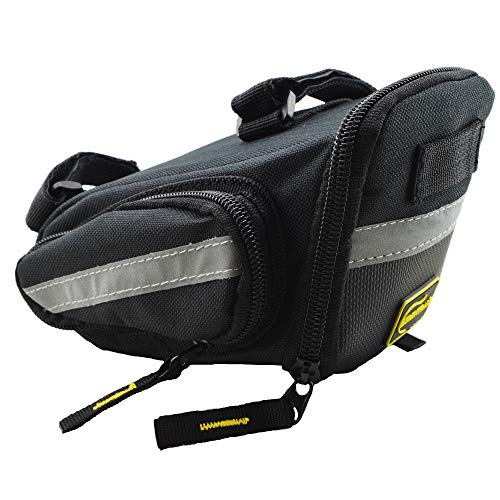 Lumintrail Bicycle Strap-On Bike Saddle Bag, Cycling Seat...