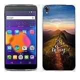 FUBAODA One Touch Idol 3(5.5 inch) Hülle Hülle, [Spitzenweg] for für Alcatel One Touch Hülle Hülle Premium Handyhülle hülle Hülle Schutzhüllen TPU Hülle für One Touch Idol 3(5.5 inch)