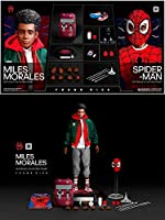YOUNG RICH Toys1/6 フィギュア スパイダーマン セット コスプレ アクションフィギュア Into the Spider-Verse : Miles Morales