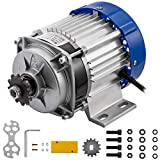 BestEquip 500W 36V Electric Tricycle Motor 500RPM Brushless Motor 10.8A Geared Motor with 14 Tooth for Tricycle,Rickshaw,ThreeWheeled Bike etc.