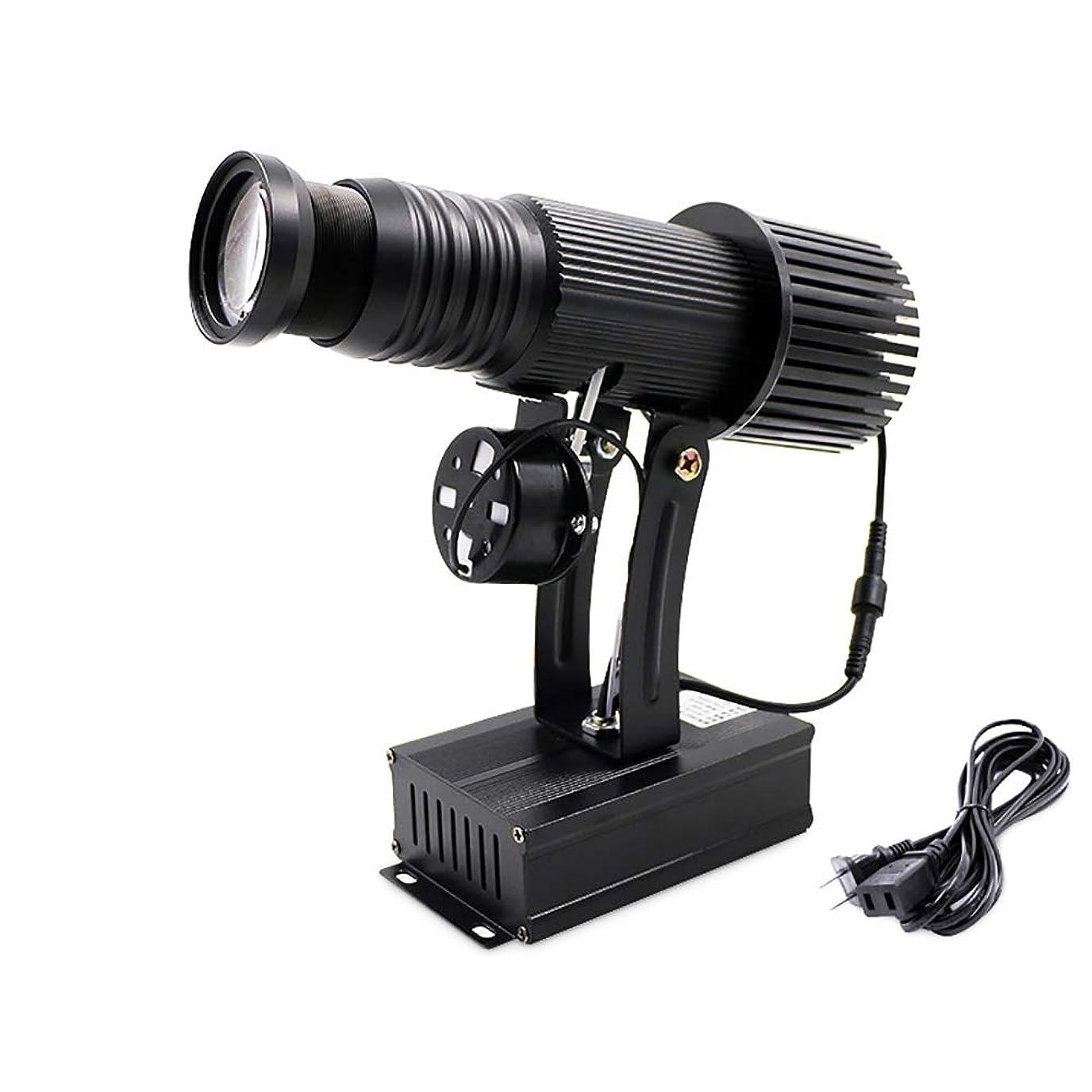女王リングバック準拠MXBAOHENGLED投影デジタル投影ランプ投影ランプ,黒い KTV,バー,庭園ライト,リモートコントロール 室内 屋外地上回転看板パターンLed広告プロジェクターカスタム 15W 110V-240V,50-60HZ (白い+1(自由))