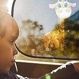 Mias 2er-Pack Sonnenblenden – Giraffen - 7