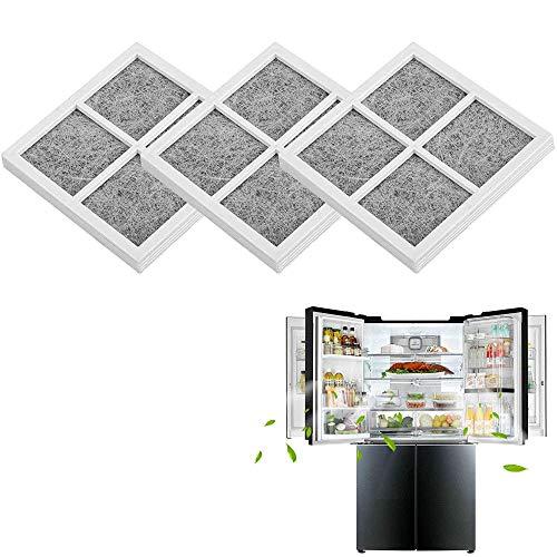 3 Pezzi Fresh Air Sostituzione Frigorifero,Sostituzione del filtro dell'aria per LG LT120F Kenmore Elite 469918 Frigorifero Freezer Fresh Flow Accessori,Frigo Filtro Aria,per il filtro del frigorifero