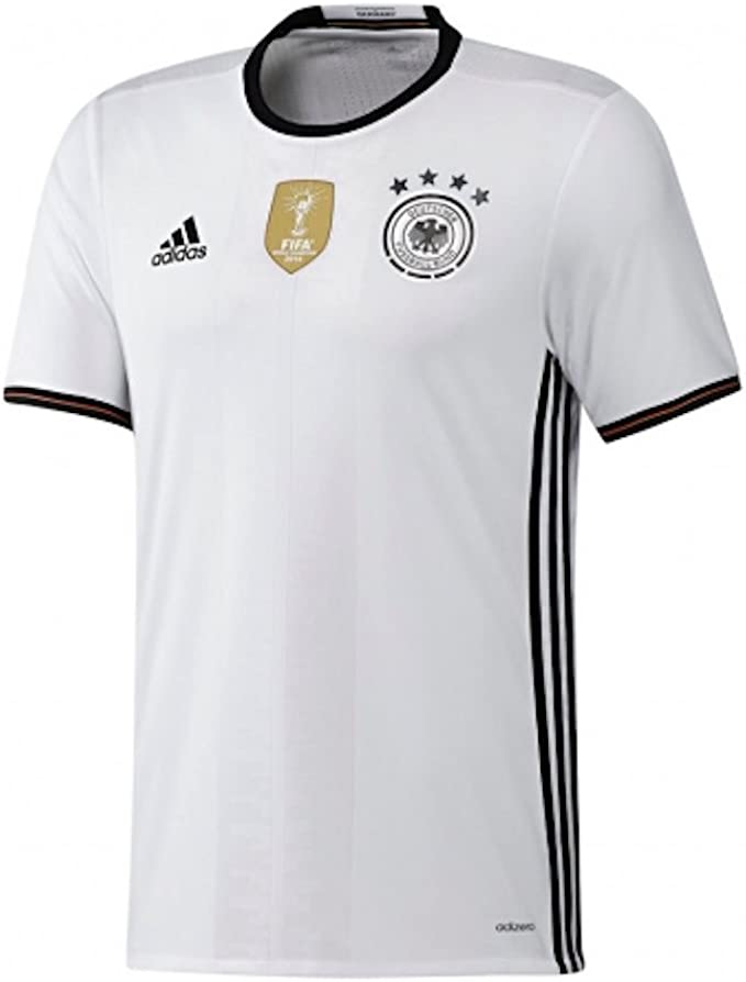 Amazon.com : adidas Germany Home Jersey Authentic Jersey [White ...