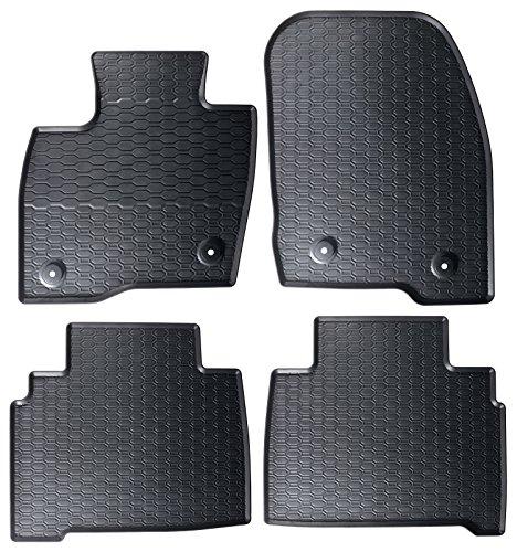 DAPA Prime Gummimatten für S-Max Galaxy ab 2015 Pkw Auto Matten Gummifußmatten Fahrzeugmatten Gummi Fußmatten