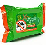 Xpel - Mosquito & insect repellent wipes 25 pack
