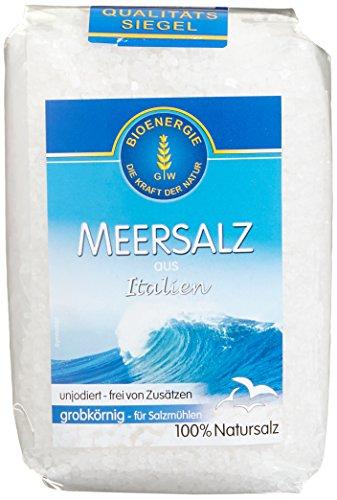 Bioenergie Meersalz grob Italien, 10er Pack (10 x 1 kg)