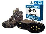 Quik resolver hielo nieve tracción tacos para botas–no Slip Gripper picos