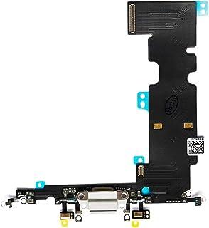 منفذ شحن AFeax OEM USB مع ميكروفون بديل لـ iPhone 8 Plus 5.5 بوصة (ذهبي وردي وفضي)