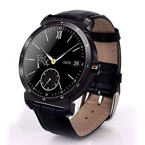 JIAJBG el Reloj de Manera Inteligente K88H Plus, Pantalla de Alta Definición Monitor Del Ritmo Cardíaco Podómetro Rastreador de Ejercicios Smartwatch Conectado para Android Iphone S