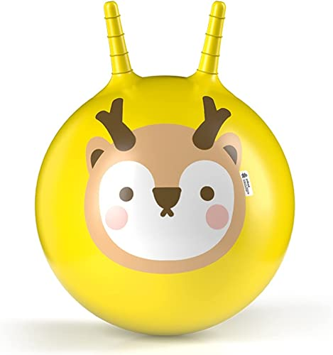 discount ROBUD Bouncy high quality Ball online sale with Handle Kids Jumping Ball Inflatable Ride on Bounce Ball for Toddlers outlet online sale