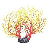 Gmkjh Acuario de árbol, árbol de Coral Artificial, simulación de plástico, Planta de Agua, Acuario, pecera, Adorno de decoración