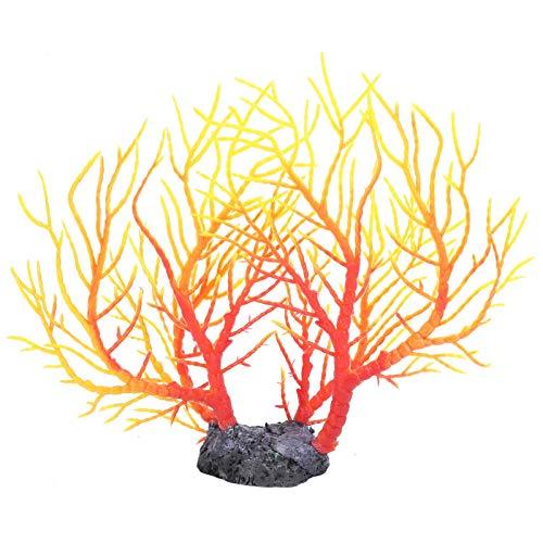 Artificial Artificial Coral Árbol, 22 X 20 X 5 cm/8.7 X 7.9 X 2 en CLORURO DE POLIVINILO El plastico Moldura
