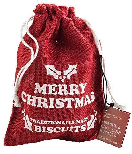 Farmhouse Biscuits Bolsa de galletas inglesas con sabor a naranja y chocolate amargo - 1 x 125 gramos