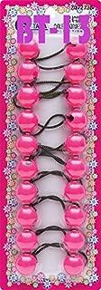 pink hair balls