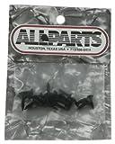 国内正規品 Allparts オールパーツ GS-0001-003 Pack of 20 Black Pickguard Screws 7506