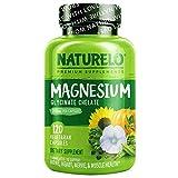 NATURELO Magnesium Glycinate Supplement - 200...