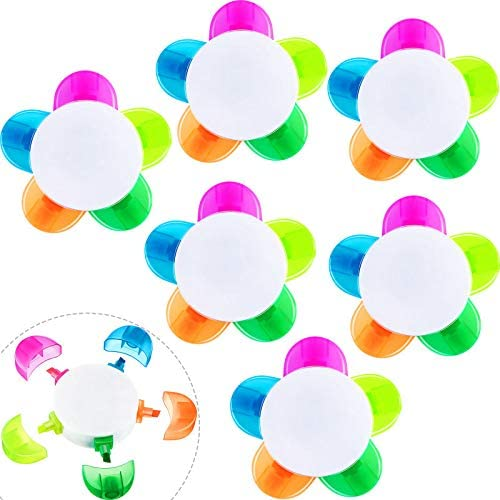 Sale item Petals Dealing full price reduction Highlighters Assorted Colors Flower Shape