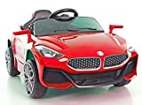 Toy school Ride on car Z4 for Kids with rechragable Battery Operated, elecric car for Boys & Girls [ 2 to 5 Years, Large, RED]