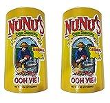 NuNu's Original All Purpose Cajun Seasoning, 8 Ounce Shaker (Pack of 2)