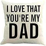 Cushion Cover Sayings Quotes I Love That You Are My Ada Soft Standard Cushion Case Printing Pillowcase Square Pillow Covers Personalized Christmas Living Room Gift Zipper Sofa Pil
