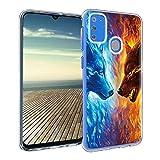 Pnakqil Samsung Galaxy M30S Phone Case, Transparent Clear