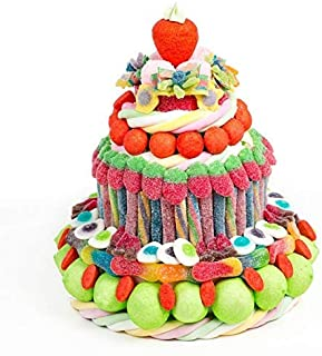 Tartas cumpleaños golosinas y chuches originales: Amazon.es ...