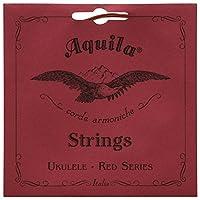 Aquila Red Series AQ-84 Soprano Ukulele Strings - Low G - 1 Set of 4 [並行輸入品]
