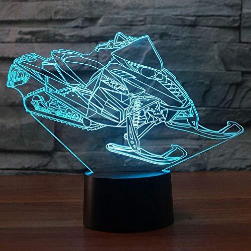 Nachtlicht 3D-Schlaflicht Touch Fernbedienung LED Tischlampe Flutlicht weiches Licht Statue Kinderzimmer Schlaf Licht dekorative Lichter Party Lichter 16 Farbe USB