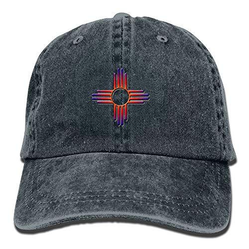 Gorra Trucker Hombre Mujer Sombrero De Sol Bandera, De, Nuevo México, Señal Gorras De Golf Unisex Gorra De Béisbol Classic Gorra De Náutica para Adulto