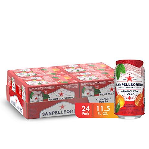 Sanpellegrino Blood Orange Sparkling Fruit Beverage, 11.15 Fl. Oz Cans (24 Pack)