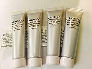 Shiseido White Lucent All Day Brightener SPF 22 (Deluxe Travel Size) 15ml X 4 Tube 60ml by Shiseido