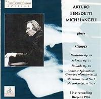 Chopin: Ballades No1; Scherzos No2