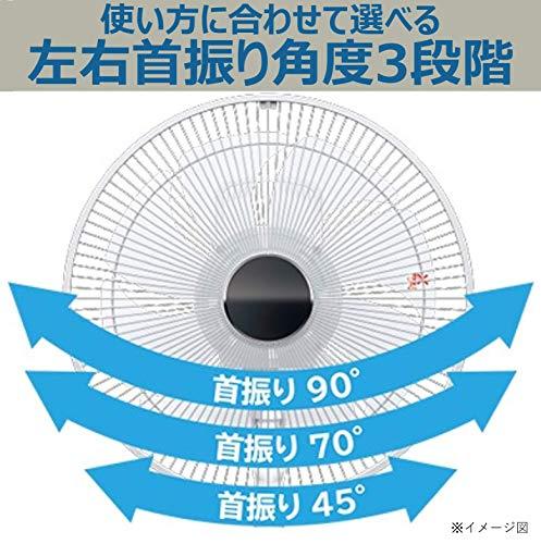 日立扇風機リモコン付風量4段階やさしい微風(うちわ風)減灯&消音8枚羽根HEF-130R