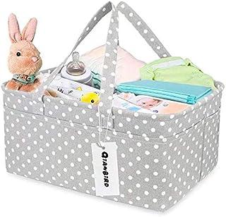 حقيبة لتنظيم حفاضات الطفل | حقيبة لتنظيم حفاضات الطفل مقاس XL للاولاد والبنات | سلة رائعة يمكن تقديمها بمثابة هدية جميلة |...