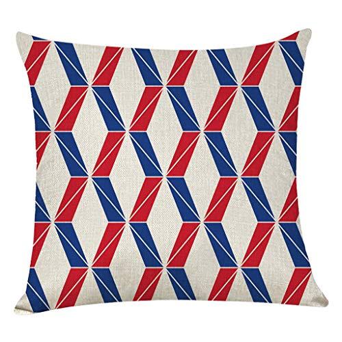 Kussensloop decoratief geometrische pentagram golfpatroon kussenslopen dekbedovertrek sierkussenslopen afmetingen: 45 x 45 cm By Vovotrade