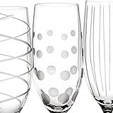Mikasa Cheers Set mit 4 Kristall-Champagnerflötengläsern, 250 ml (8fl oz), weiss - 8