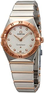 Constellation White Silvery Dial Ladies Steel and 18kt Sedna Gold Watch 131.20.25.60.52.001