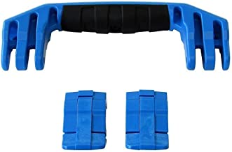 1 Blue Replacement Handle / 2 Blue Latches for Pelican 1450 & 1500 Customize Your Pelican Case.