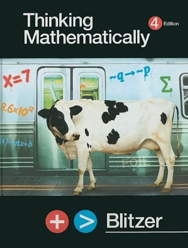 Thinking Mathematically plus MyMathLab Student Access Kit (4th Edition)