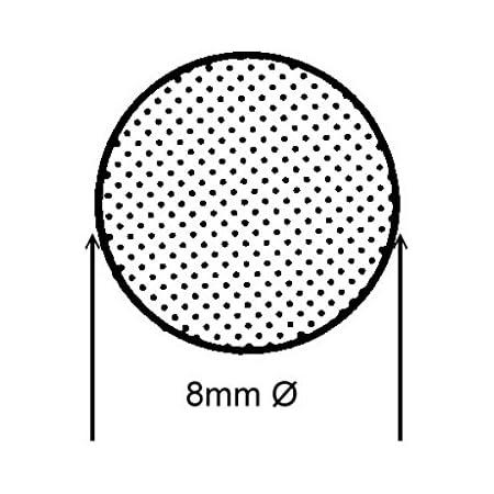 Schwarz vielseitig einsetzbar 0,1 m Rundschnur von SMI-Kantenschutzprofi aus EPDM Moosgummi Dichtung Gummischnur Fugendichtband Fugenprofil witterungsbest/ändig RS18 Durchmesser 18mm