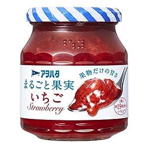 アヲハタ 砂糖不使用 255g まるごと果実 いちご
