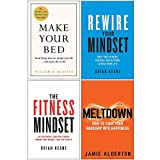 Make Your Bed 10 Life Lessons from a Navy SEAL [Hardcover], Rewire Your Mindset, The Fitness Mindset, Meltdown 4 Books Collection Set