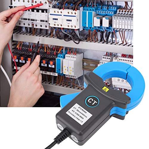 【】 Sensor de corriente de fuga de pinza para instrumento de medición,...