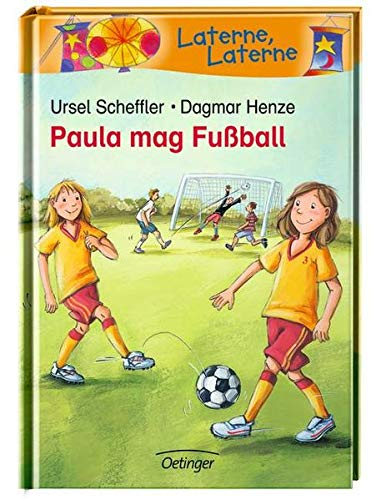 Paula mag Fussball (Laterne, Laterne)
